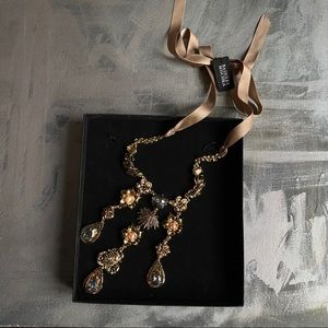 Badgley Mischka Jewelry - NWT - Badgley Mischka Gold Statement Necklace